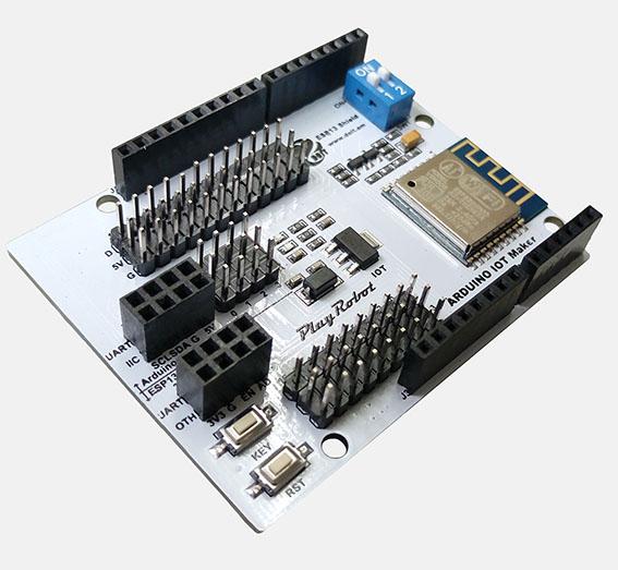 * 切换快免插拔  - 不须额外电路板或接线,堆叠arduino控制板即可